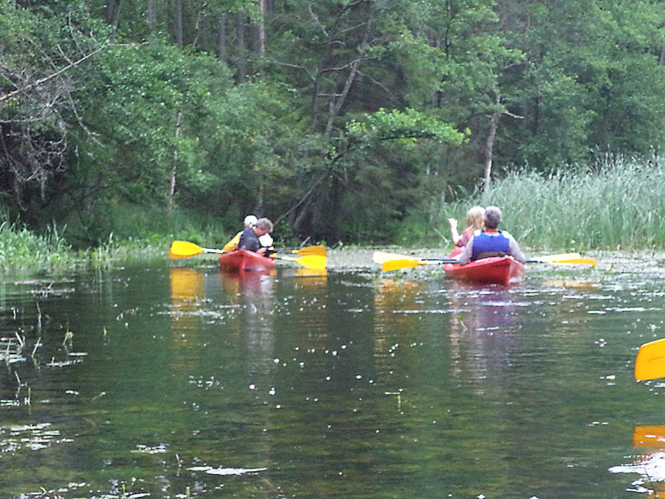Kayaking on rivers and lakes 02
