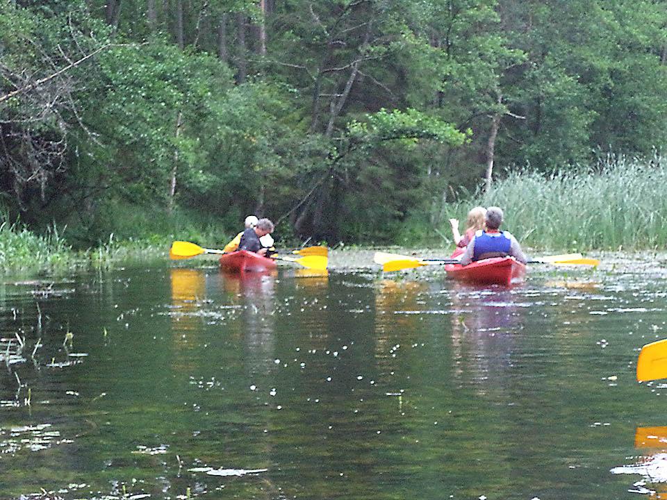 Kayaking on rivers and lakes 02