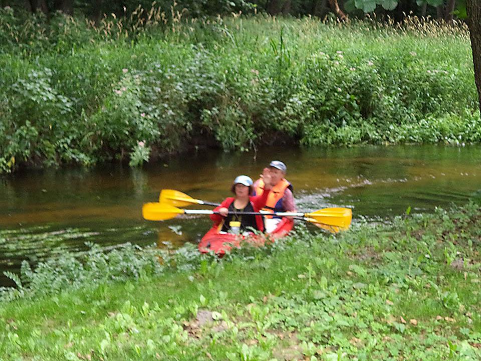 Kayaking on rivers and lakes 04